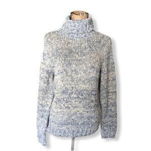 {Ann Taylor} New Marled Knit Turtleneck Sweater